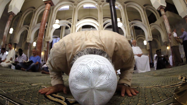 Oración en la mezquita