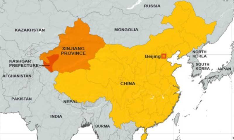 China persigue a los islámicos uigures más que a los cristianos