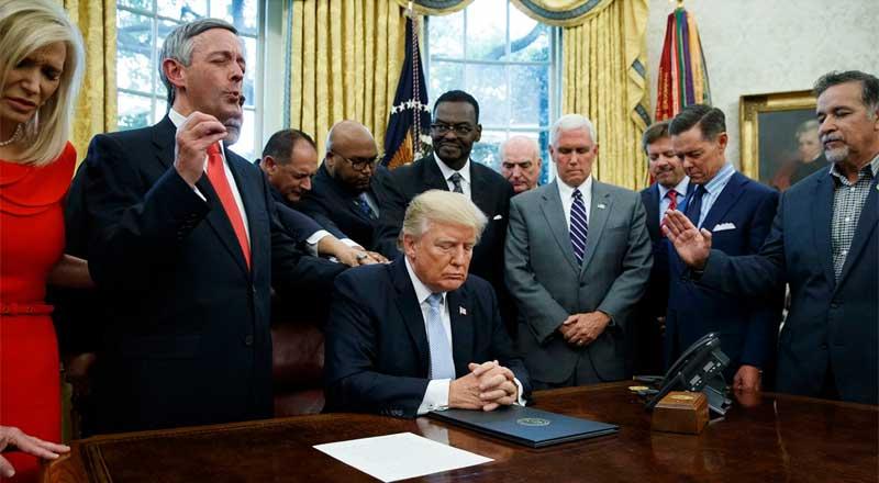 evangélicos con Trump
