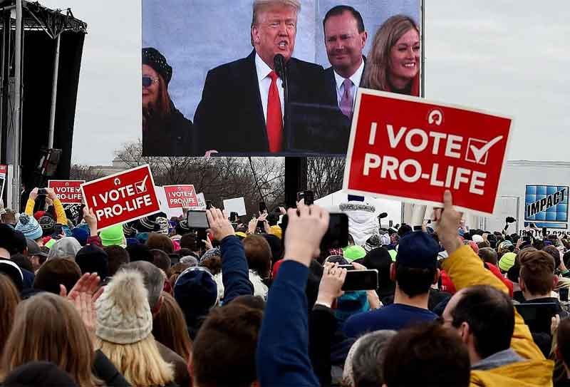 Aborto + Enseñanza Religiosa: El Reino de Dios y Trump 2020