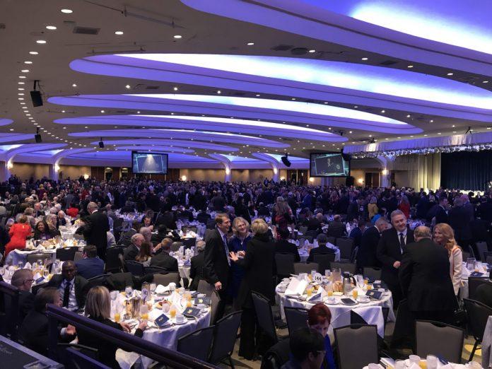 68º Café da Manhã Nacional de Oração, no Washington Hilton Hotel, na quinta-feira 06/02/2020