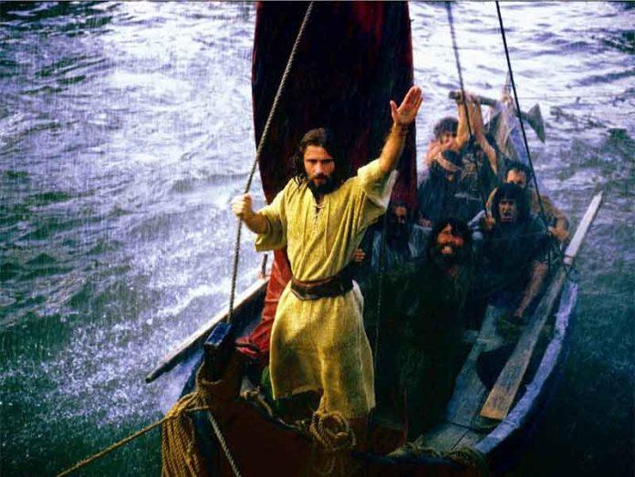 Jesús en la tempestad