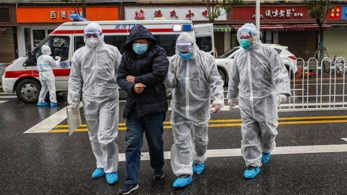 pandemia en Wuhan