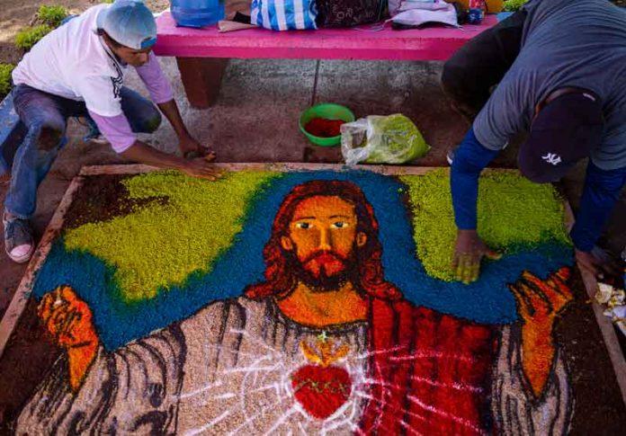 Jesús en Nicaragua