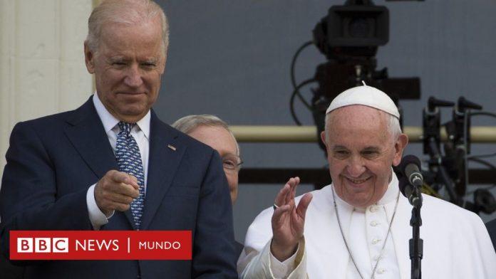 Joe Biden y el papa Francisco