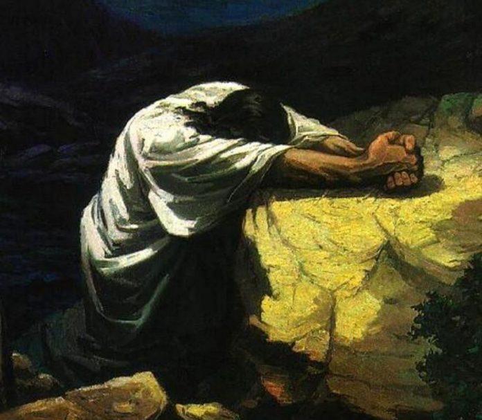La oración de Jesús en el huerto del Getsemaní